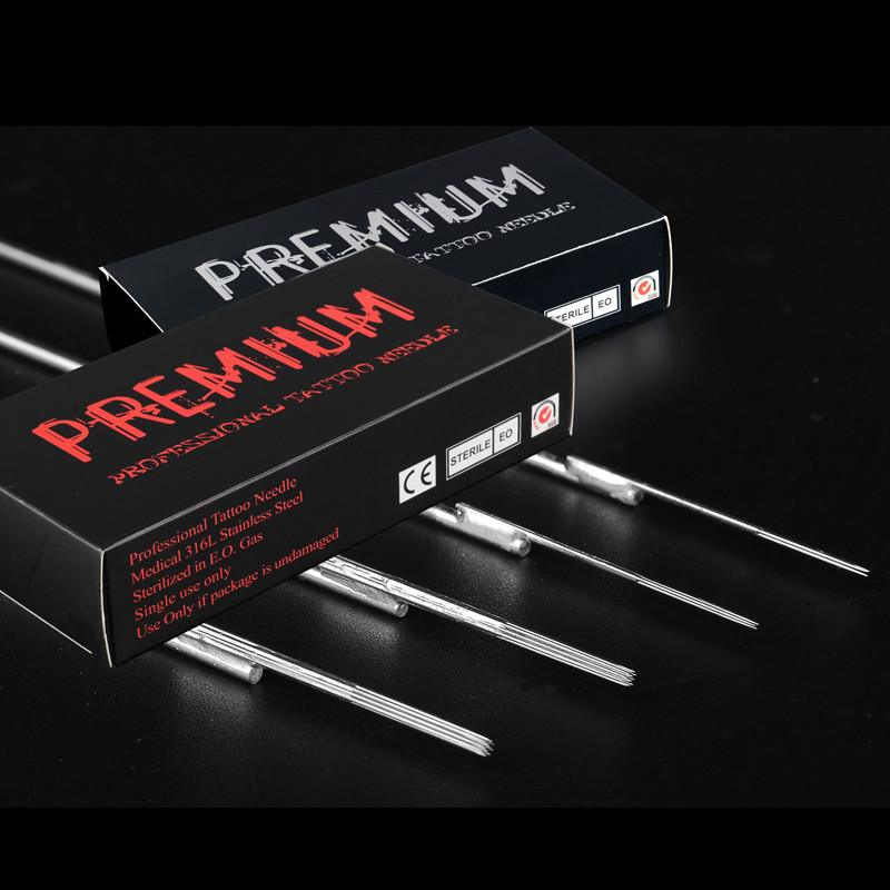 Disposable Standard Quality Flat Tattoo Needles 5F/7F/9F